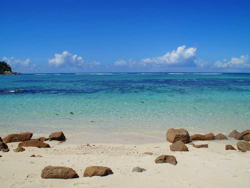 A desert island
